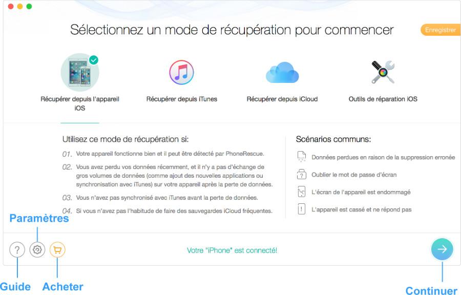 phonerescue - PhoneRescue : récupérer ses données perdues (iPhone, iPad, Android)
