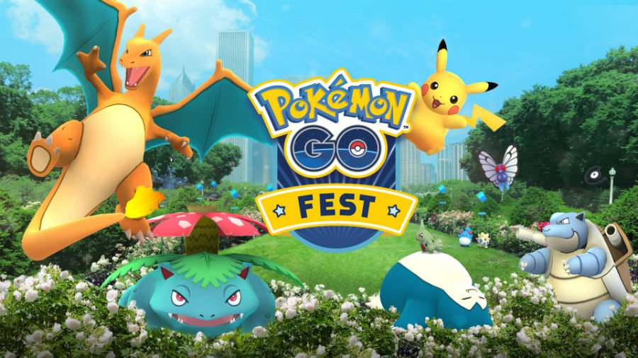 pokemon go fest premier anniversaire - 1 an de Pokémon GO : événements & grosses nouveautés, dont la co-op