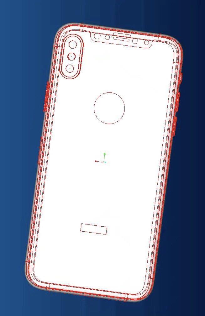 schema iphone 8 geskin 2 - iPhone 8 : maquette avec coque de protection, nouveaux rendus 3D