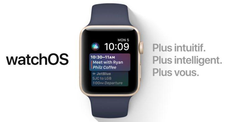 Keynote WWDC 2017 : watchOS 4 (Apple Watch), quelles nouveautés ?