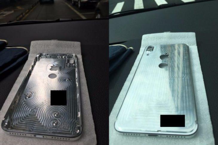 iPhone 8 : un châssis avec Touch ID arrière fait son apparition
