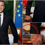 Emmanuel Macron place ses deux iPhone dans son portrait officiel