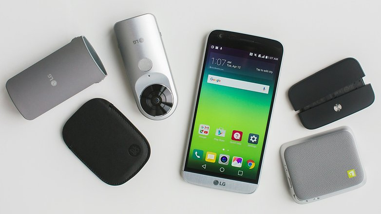 LG G5 smartphone modulaire - Smartphones modulaires : où en est-on en 2017 ?