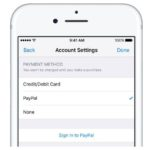 App Store, Apple Music, iTunes : payer par PayPal devient possible !