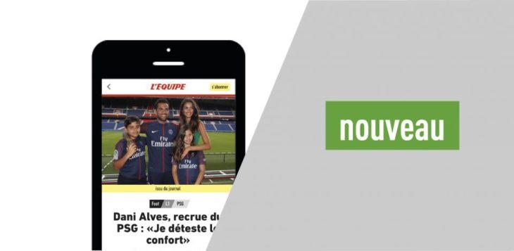 L'Équipe lance son nouveau site mobile