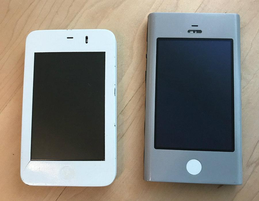 Wallabies : deux des protoypes du premier iPhone dévoilés