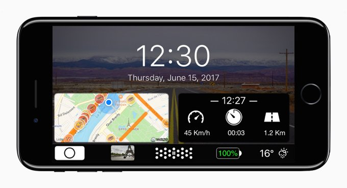 caros iphone - CarOS : un CarPlay amélioré sur iPhone & iPad, sans jailbreak