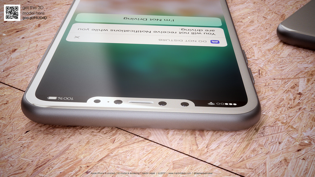 iPhone 8 blanc concept 10 - iPhone 8 : de jolis rendus d'un modèle blanc
