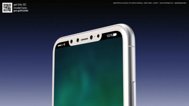iPhone 8 : le Touch ID intégré dans le bouton d'allumage ?