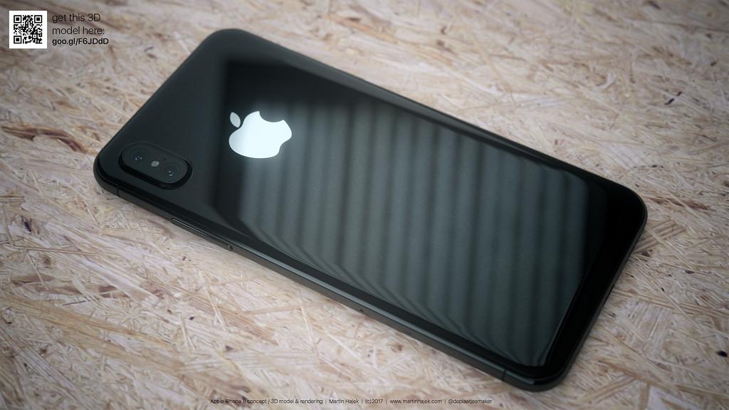 iPhone 8 blanc concept 2 - L'iPhone 8 serait finalement baptisé iPhone Plus