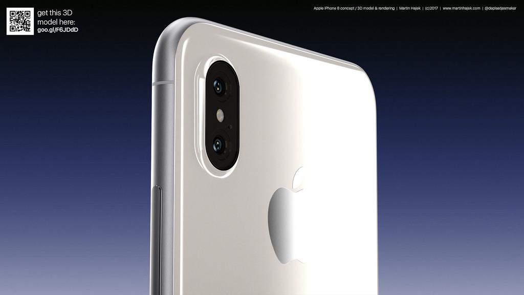 iPhone 8 blanc concept 4 - iPhone 8 : de jolis rendus d'un modèle blanc