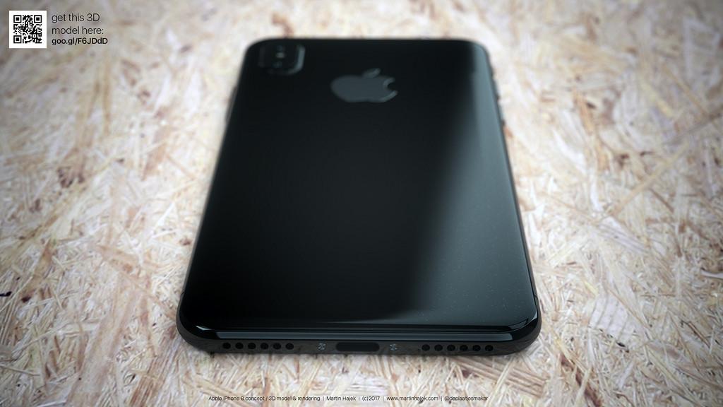 iPhone 8 blanc concept 9 - iPhone 8 : de jolis rendus d'un modèle blanc