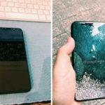 iPhone 8 : photos et vidéo de prise en main d'une maquette