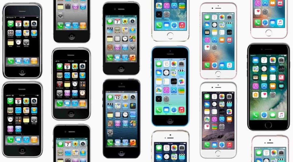 iphone 10 ans 1024x566 - L'iPhone fête ses dix ans : retour sur une success story