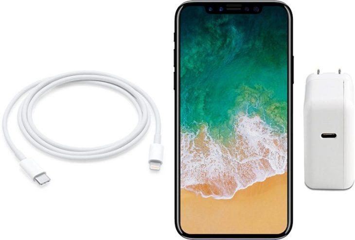 iPhone 8 : un chargeur 10W USB-C avec recharge rapide au programme