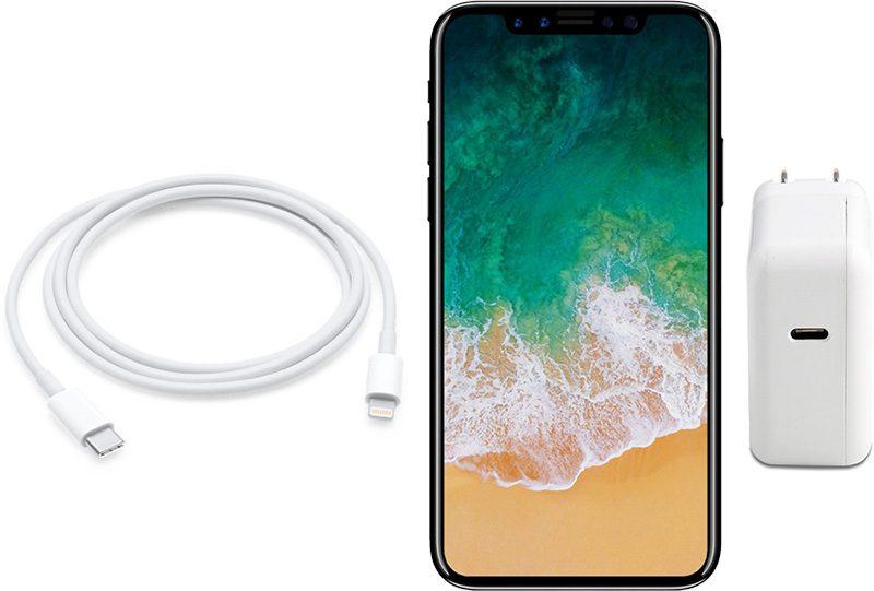 iphone 8 chargeur usb c concept - iPhone 8 : un chargeur 10W USB-C avec recharge rapide au programme