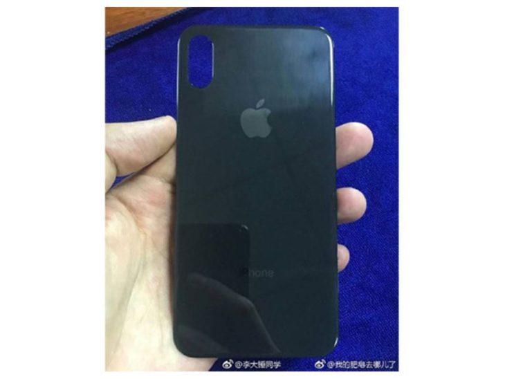 iPhone 8 : une nouvelle photo de la façade arrière en verre ?