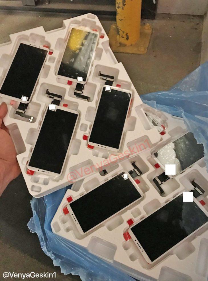 iPhone 8 : une photo avec le capteur d'empreintes Touch ID à l'arrière
