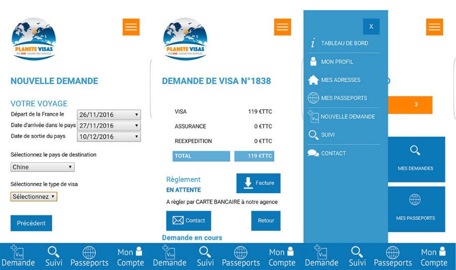 planete visas iphone - Planète Visas : l'app qui simplifie les demandes de visa