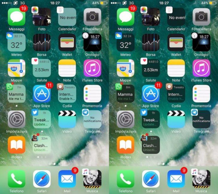 Jailbreak : le tweak Cydia Vigor révolutionne les icônes des apps