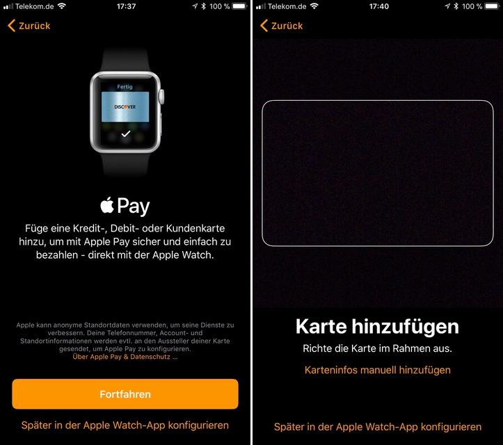 Apple Pay Allemagne Configuration - Apple Pay : une disponibilité en Allemagne avec iOS 11 ?