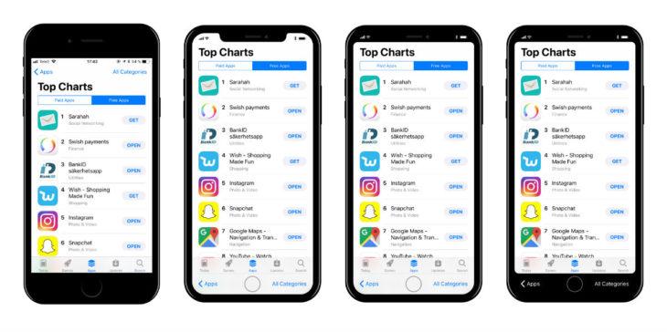 iPhone 8 : un concept imagine l'affichage de l'App Store sur l'écran