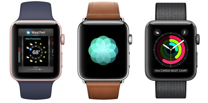 apple watch series 2 - Apple Watch 4G : pas d'appels téléphoniques ni de support Android ?