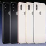 iPhone 8 : un nouveau concept de Martin Hajek en 5 coloris