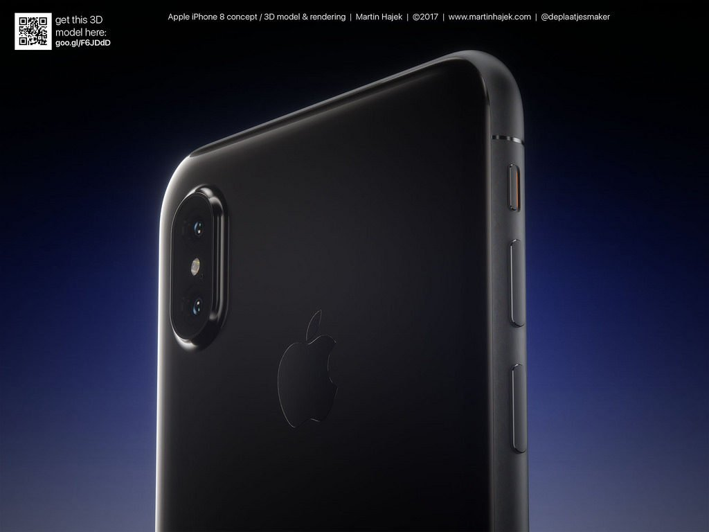 concept martin hajek iphone 5 coloris 4 1024x768 - iPhone 8 : un nouveau concept de Martin Hajek en 5 coloris