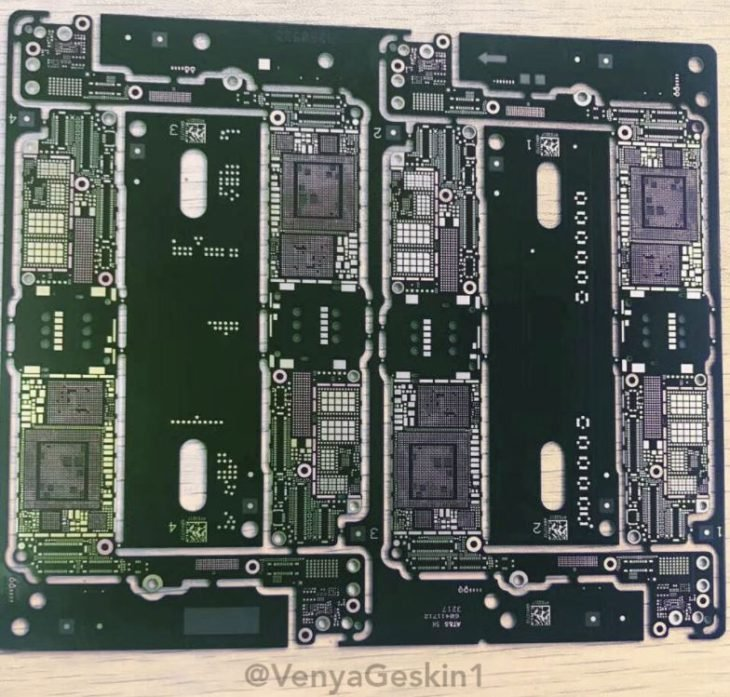 iPhone 7S : une photo de la carte mère confirmant la puce A11 ?