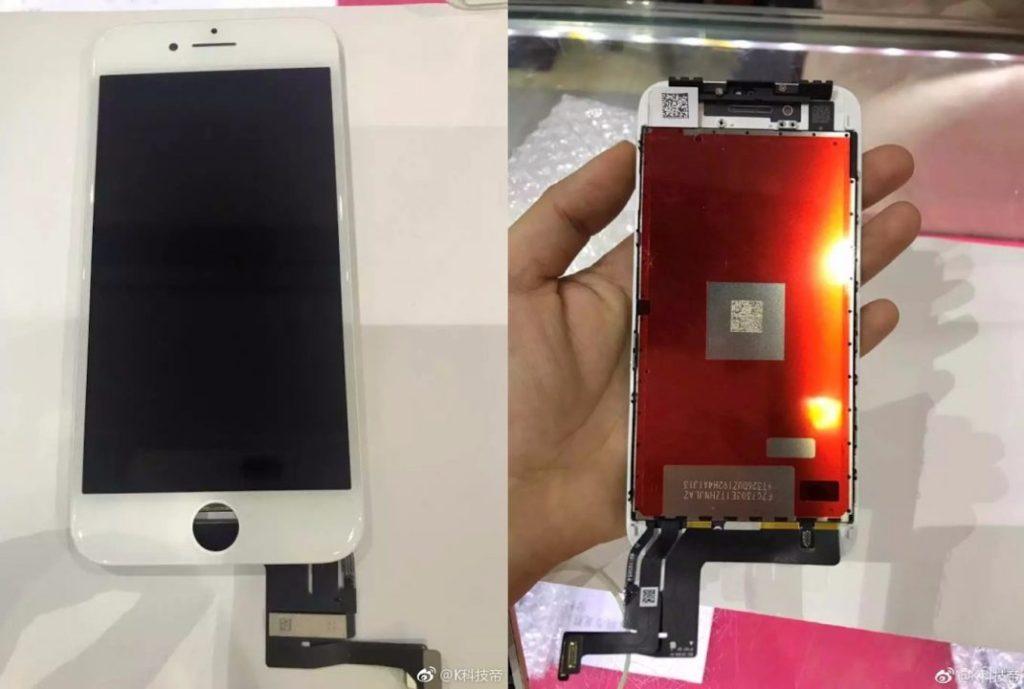 fuite iphone 7s ecran 1024x689 - iPhone 7S : des photos de l'écran et des câbles ?