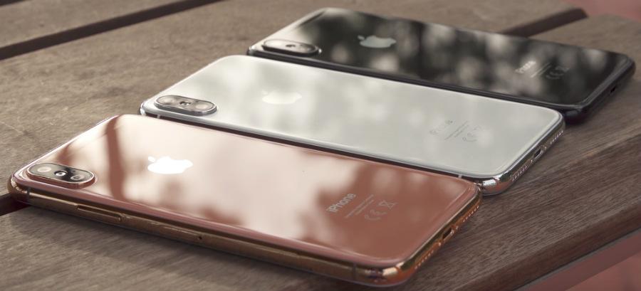 iPhone 8 maquettes Noir Argent or cruivre - iPhone 8 : prix de 999 $ (64 Go), 1099$ (256 Go) & 1199 $ (512 Go) ?