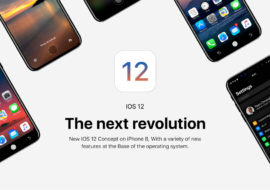 Insolite : un concept imagine déjà iOS 12 sur l'iPhone 8