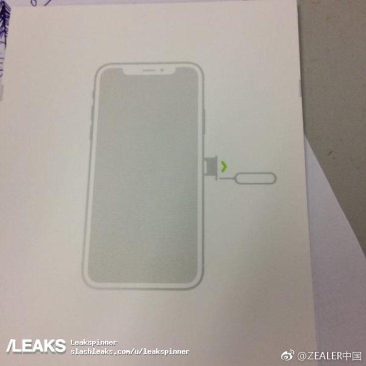 iPhone 8 : le design confirmé par le manuel d'utilisation ?