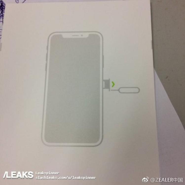iphone 8 design manuel utilisation fuite - iPhone 8 : le design confirmé par le manuel d'utilisation ?