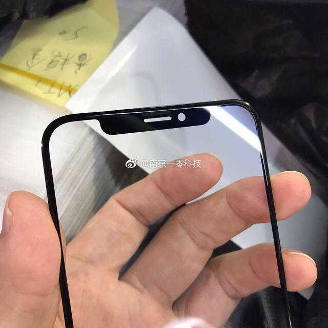 iphone 8 facade avant fuite 4 - iPhone 8 : des photos de la façade avant avec ses capteurs