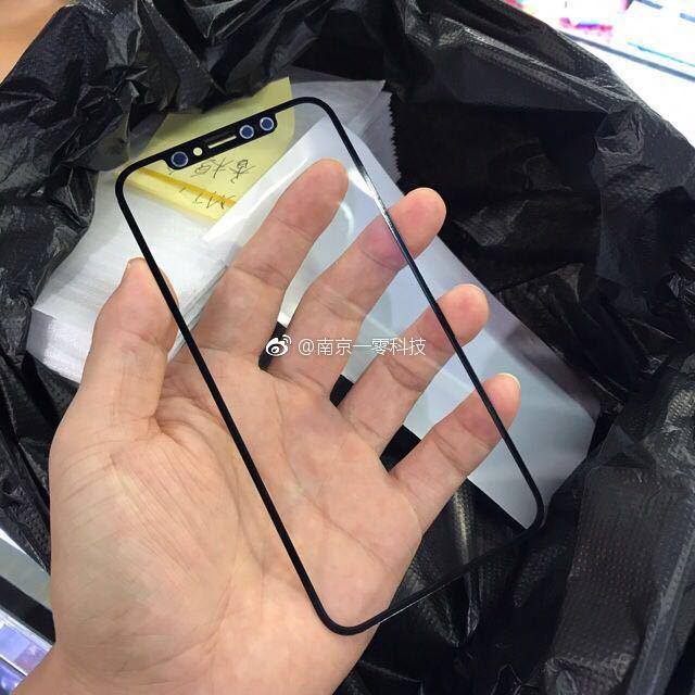 iphone 8 facade avant fuite - iPhone 8 : des photos de la façade avant avec ses capteurs