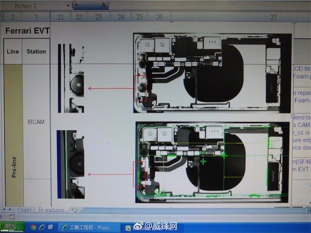 iPhone 8 : des photos dévoilent les composants internes aux rayons X