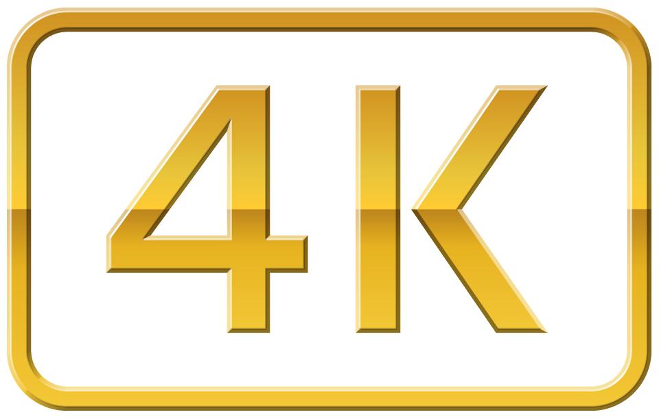 logo 4k - Une nouvelle Apple TV 4K en septembre avec l'iPhone 8 ?