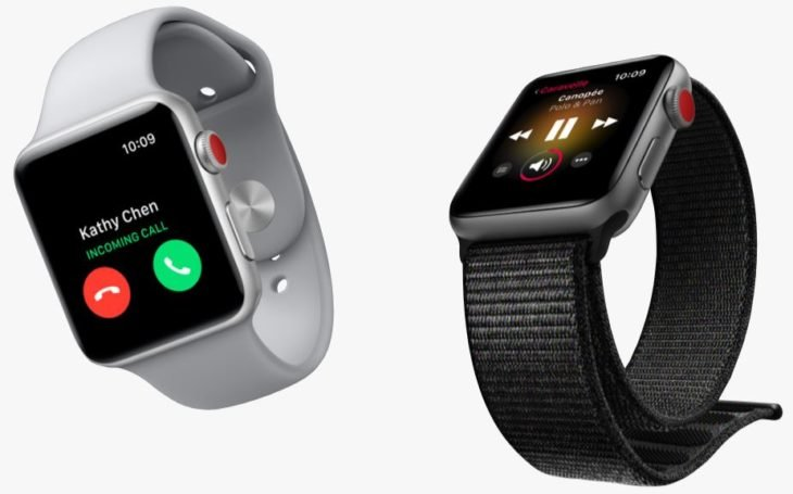 Keynote : Apple dévoile l'Apple Watch Series 3 4G
