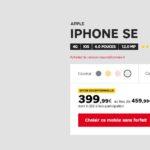 Bon plan : l'iPhone SE 128Go débloqué à seulement 399€ via SFR