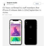 iPhone 8 : date de sortie prévue le vendredi 22 septembre ?