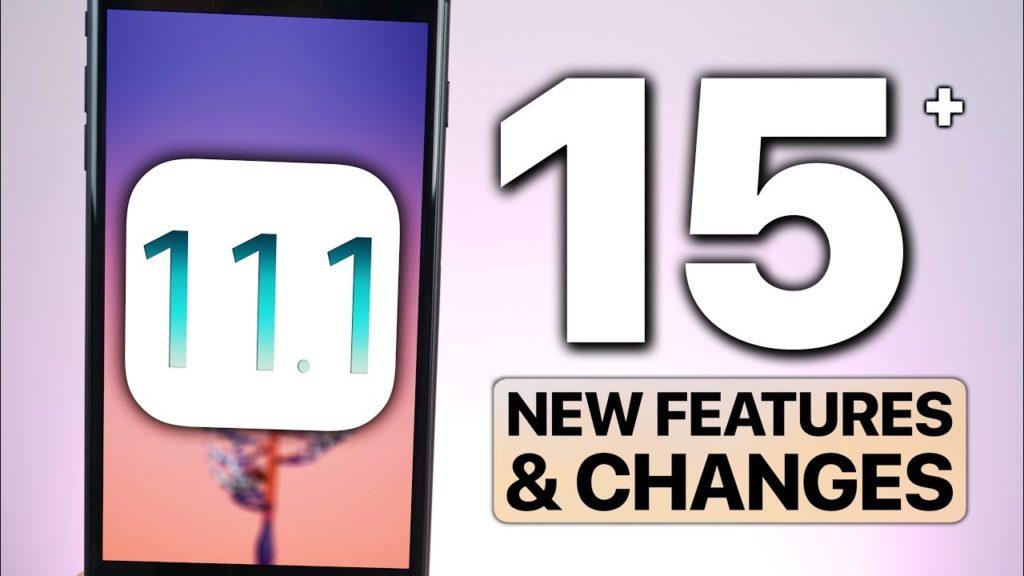 """ios 11 1 nouveautes 1024x576 - iOS 11.1 bêta 1 disponible, quelles """"nouveautés"""" ?"""