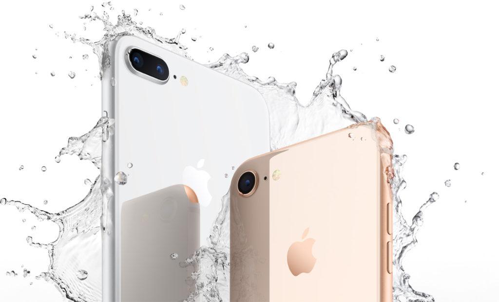 iphone 8 8 plus eau 1024x621 - Précommandes : l'iPhone 8 aurait moins de succès que l'iPhone 7