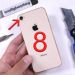 L'iPhone 8 soumis à des tests de torture et de pliabilité