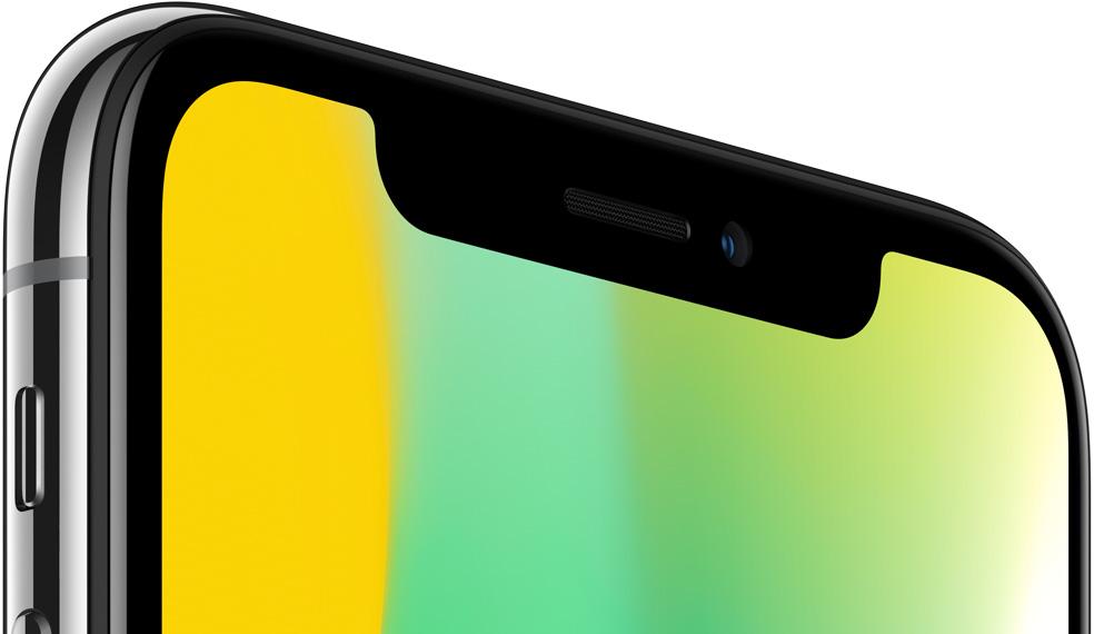 iphone x haut ecran - iPhone X : un retard causé par les capteurs 3D