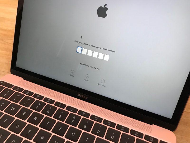 "mac verrouille localiser mon iphone - Des hackers exploitent ""Localiser mon iPhone"" pour verrouiller des Mac"