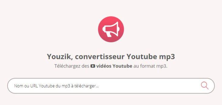 Youzik : le meilleur successeur de Youtube-MP3 !