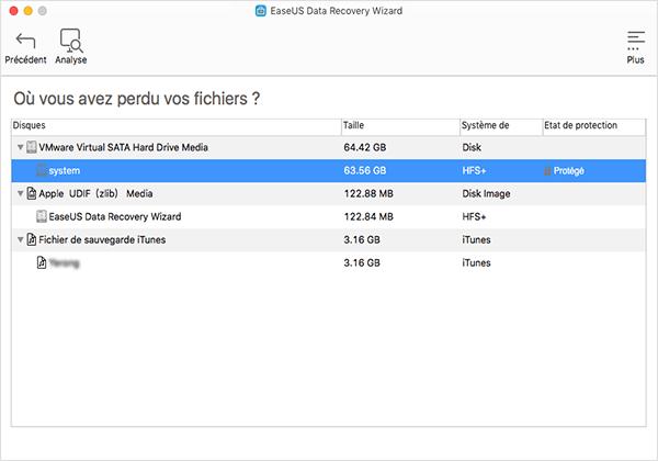 EaseUS Data Recovery Wizard 2 - EaseUS Data Recovery Wizard : récupérer ses données perdues sur Mac