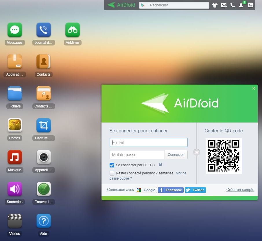 AirDroid : transférer facilement des fichiers sans fil entre iOS & Android